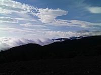 入笠山から望む富士山